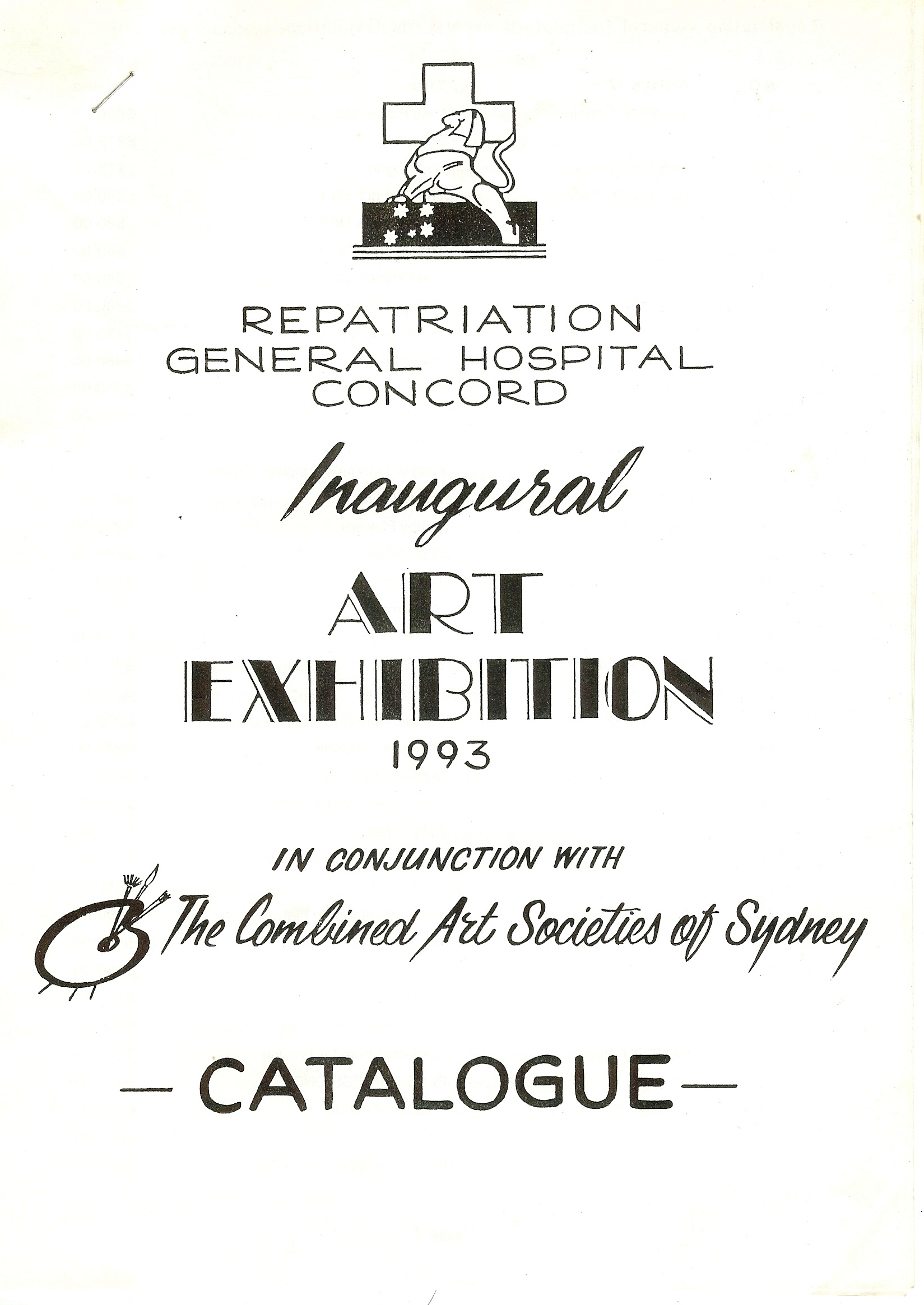 News marcelle mansour invitation of inaugural group art exhibition 1993 in conjuntion with the combined art societies repatriation stopboris Images