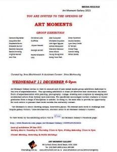 Art Moment Group Mixed Media Art Exhibition, Marcelle Mansour 11 Dec 2013