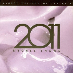 2011 Degree Show, Sydney College of the Arts, Sydney University, Marcelle Mansour, MSA Page 129