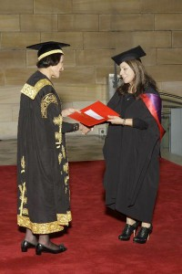 Marceele Mansour awarded the Master of Arts degree (MSA), University of Sydney,