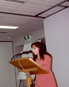 Marcelle Mansour, Visual Artist and Writer, was awarded Role Model acknowledgement by Universal Women for the ethnic communities on cultural aspect in 1996