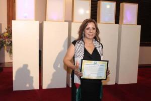Marcelle Mansour's Award of Universal Ambassador for Peace Award, (UPF) and International Year of Light (IYL) Australia 2015
