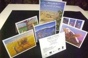 Marcelle Mansour's Greeting Cards. Reproduction of Images of Wisdom Art Exhibition at the Australian Museum. Published by the Australian Palestinian Club
