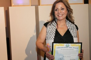 Marcelle Mansour receives UPF Award