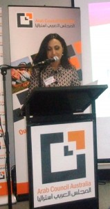 3 Ms Fatima Ali, The Chairperson of Arab Council Australia
